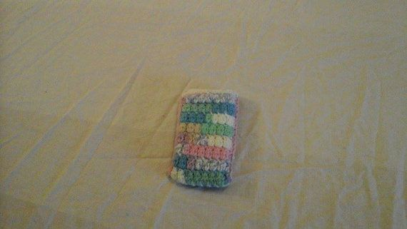 Mobile Phone Cover Crocheted Phone Case