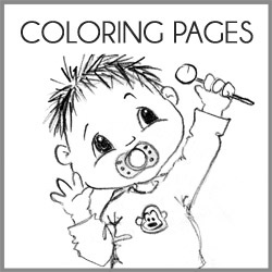 Free Printable Coloring Book Pages For When You Have Unexpected Little Visitors Who Need Something To