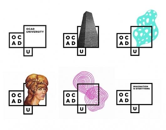 Designspiration — bruce mau design: new OCAD identity