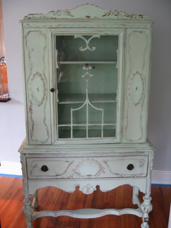 I need/want an antique china cabinet.