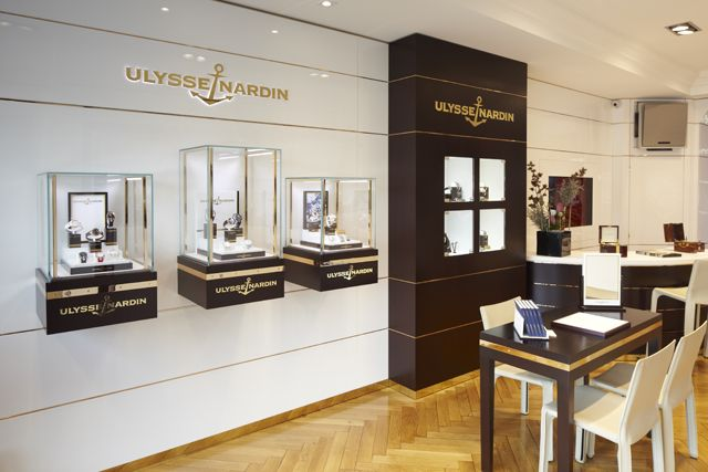 Ulysse Nardin Opens its first mono-brand Boutique in Geneva, Switzerland - WtheJournal - all about high-end watches