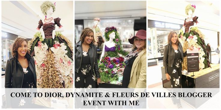 This week I had the most exciting pleasure to head grande opening of the  Fleurs De Villes event at Southgate Centre ! Southgate mall is the closest  mall to where I reside - so, needless to say it's somewhere where i  frequent often.   The Southgate mall stores have so much to offer, but it wa