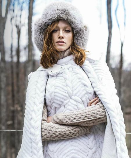 Amazing @bcbgmaxazria winter outfit from our fashion editorial of Mixte Magazine 17.