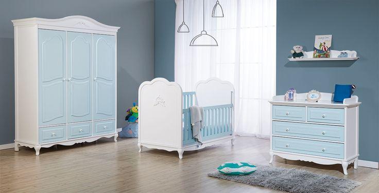 Mavi gibi huzurlu, sonsuz ve mavi gibi mutlu. Mavinin beyaz ile muhteşem harmonisi, Cielo ile hayatınızın büyülü güzelliklerinin odalarını süslüyor.