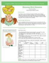 Enrich your reading of the Gooney Bird Greene series by Lois Lowry with discussion guides for each book. This printable packet includes discussion questions, an ELA/literacy graphic organizer, and a project idea for each book. (Grades 3-7) https://www.teachervision.com/reading-instruction/printable/74808.html #midleved #kidlit