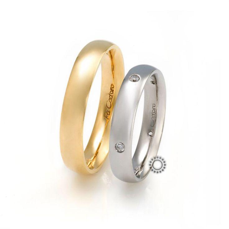 Βέρες γάμου Facadoro 13Α/13Γ - Ένα απλό και διαχρονικό σχέδιο από ανατομικές βέρες FaCadoro | Βέρες γάμου ΤΣΑΛΔΑΡΗΣ Κόσμημα στο Χαλάνδρι #βέρες #βερες #γάμου #λευκόχρυσος #χρυσός #facadoro #tsaldaris