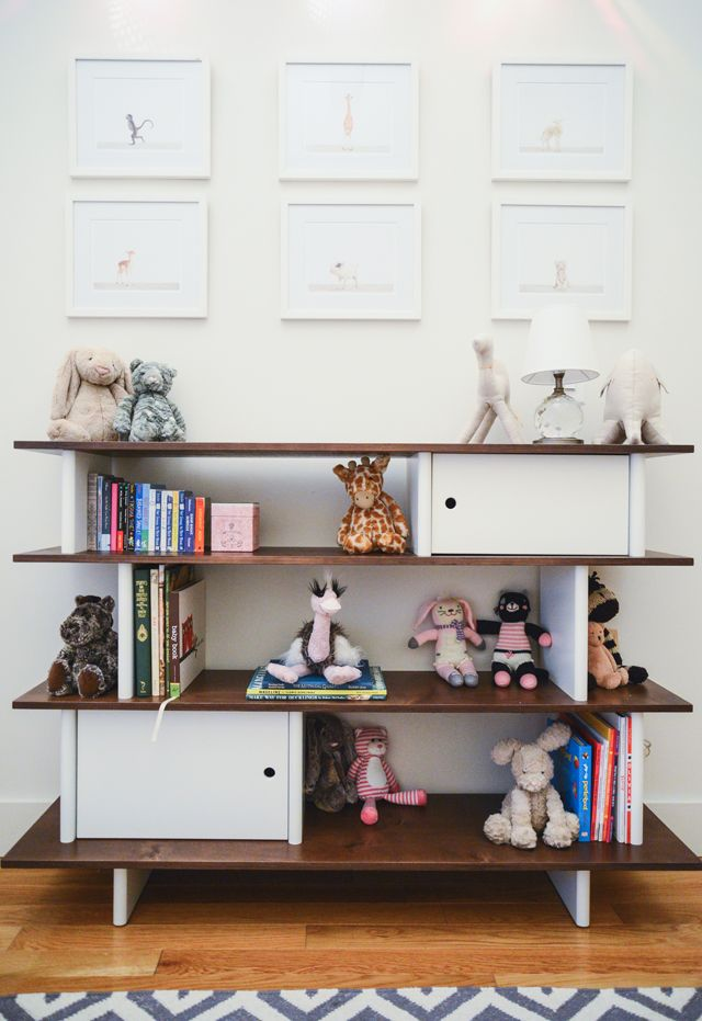 Animal Prints and Oeuf Mini Library in Nursery - love this simple, clean design!: Children Rooms, Kids Stuff, Village Families, Projects Nurseries, Animal Prints, Baby Rooms, Nurseries Idea, Families Homes, Kids Rooms