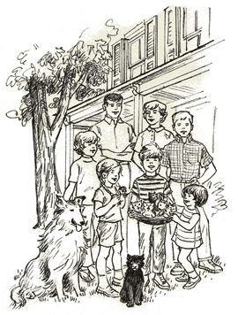 The Boxcar Children Coloring Pages
