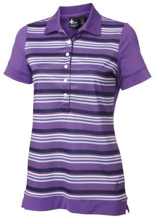 Dimple Polo Amethyst #crossgolfapparel