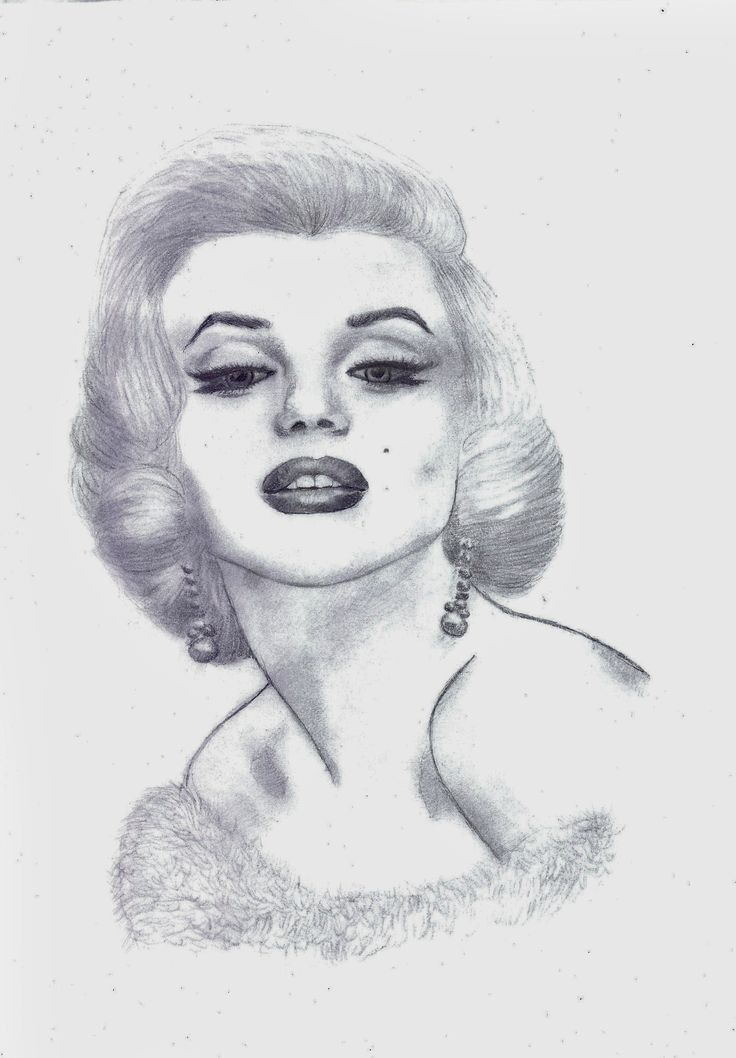 Marilyn Monroe by Nanabananaa.deviantart.com on @DeviantArt