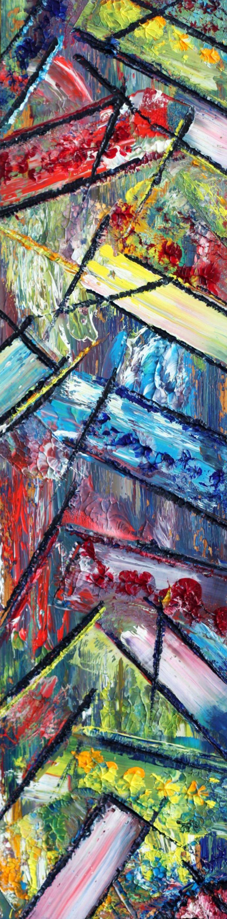 "Saatchi Art Artist Preston M Smith PMS; Painting, ""Everything Falls Apart"" #art"