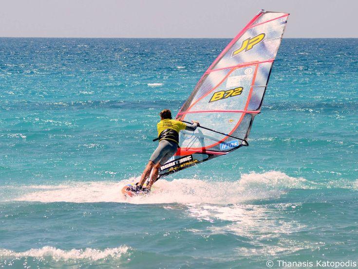 Φωτογραφικό υλικό του Θανάση Κατωπόδη από το Πανευρωπαϊκό Πρωτάθλημα Windsurfing
