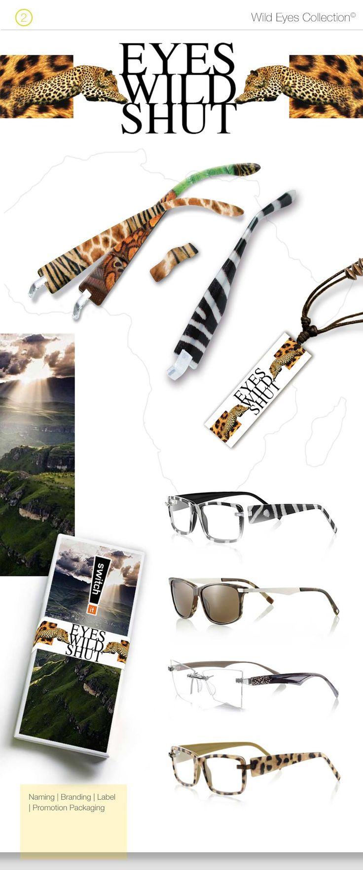 Augen auf beim Brillenkauf. Der Optikermarkt stagniert. Das Businessmodell veraltet. Die Lösung: Eine modifizierbare Brille unter der Marke SWITCH IT. #Augen #Brillen #Design #smile #style #creative #brands #business #concepts #product #promotion