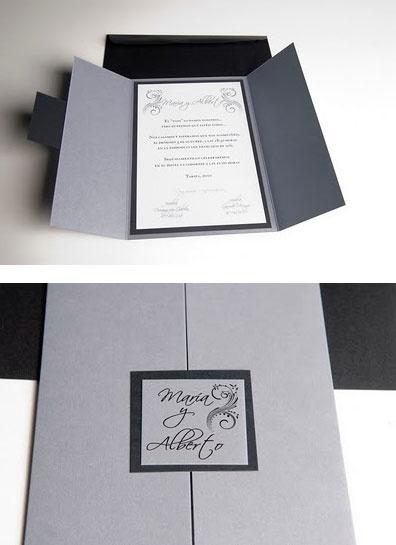 Partecipazioni di nozze per l'inverno
