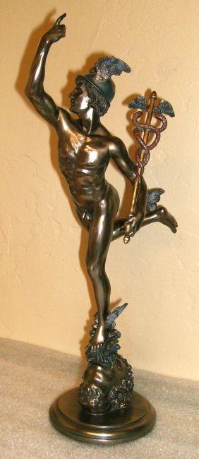 Hermes Holding the Cauduceus - U$59