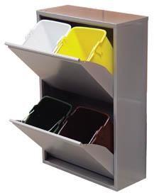 31 best cubos de basura reciclaje images on pinterest - Cubos de basura industriales ...