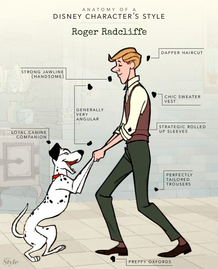 Anatomy of a Disney Character's Style: Roger Radcliffe | Disney Style