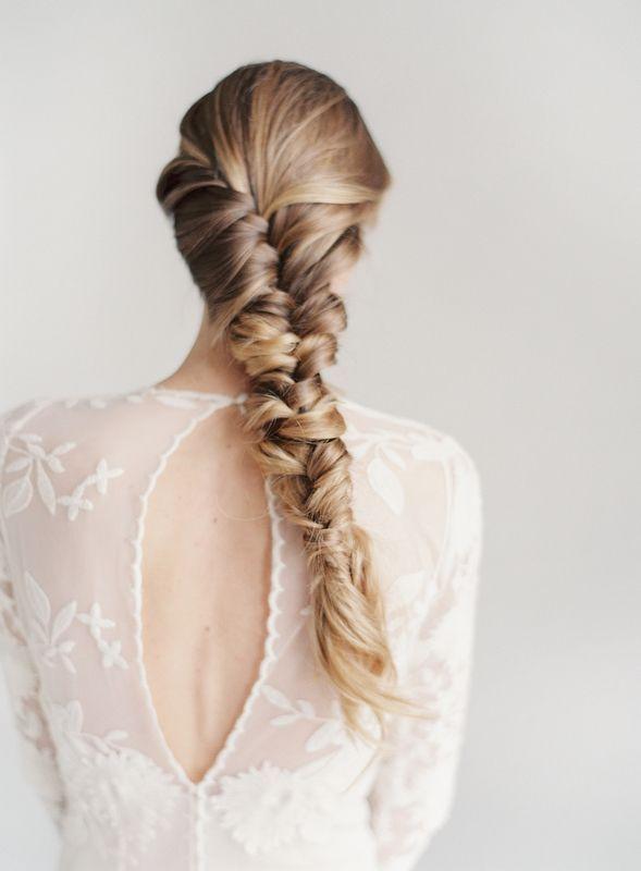 Si cuentas con una melena larga y potente, y eres una novia boho y/o vintage. @Innovias no tiene dudas: este es un peinado ideal!!!