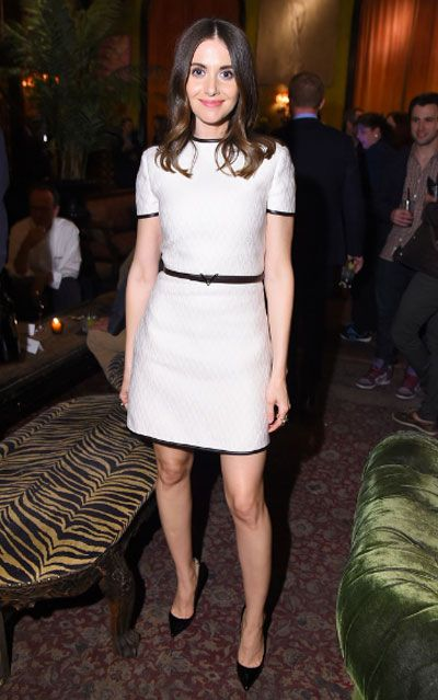"""Alison Brie is an American actress. Best Known For her playing Annie Edison on the NBC / Yahoo sitcom Community since 2009 and Gertrude """"Trudy"""" Campbell on the AMC drama Mad Men from 2007 to 2014."""