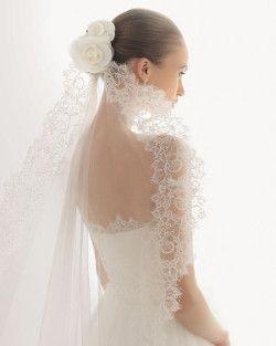 peinados de novia con velo catedral - Buscar con Google