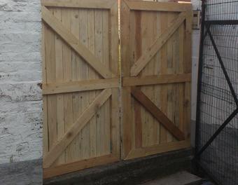 17 meilleures id es propos de portail palette sur for Porte en ferraille