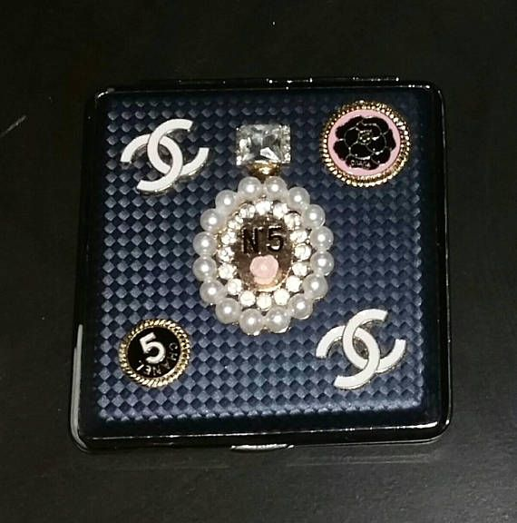 Check out this item in my Etsy shop https://www.etsy.com/ca/listing/539841070/chanel-inspired-cigarette-case-hollywood