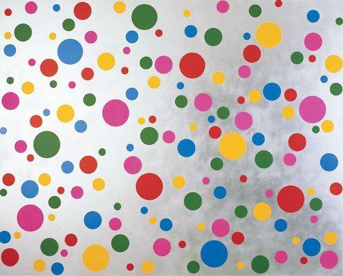 Résultats Google Recherche d'images correspondant à http://img.over-blog.com/500x402/1/27/08/90/peintures-2013/YAYOI-KUSAMA-gommettes-colore...