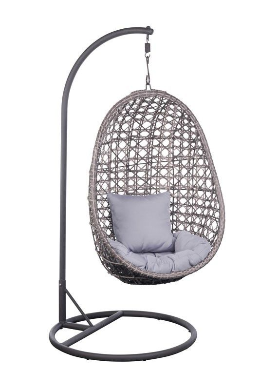 Heerlijke lounger hangstoel Hawai online bestellen. TOP hangstoel buiten voor jarenlang plezier. N