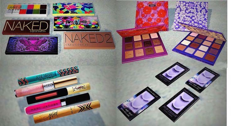 Sephora Makeup Clutter by YaYaSimblr
