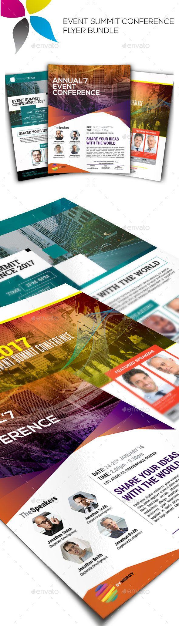 best ideas about flyer design templates flyer event summit conference flyer bundle vol 1