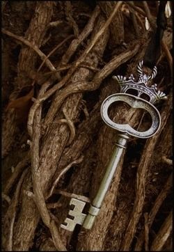 skeleton key in twigs