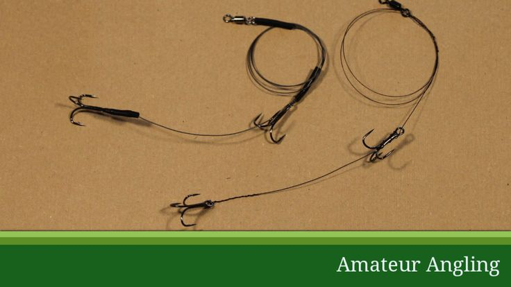 Wire trace for pike fishing