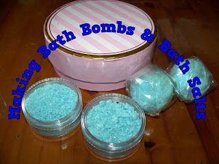 A Pretty Talent Blog: Making Bath Bombs & Bath Salts