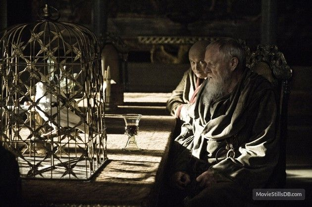 Game of Thrones - Publicity still of Julian Glover & Conleth Hill