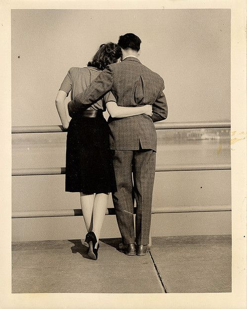 An outtake from my Gramz's LIFE Magazine cover photoshoot in the 1940's. This is her and her first husband, who went MIA in WW2. She was 23, here. Photo by Eliot Elisofon, 1941.