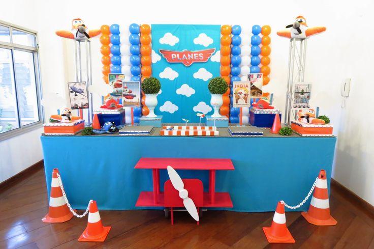 Beula decoraciones, decoracion de eventos tematicos e infantiles: fiesta aviones disney