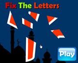 Fix The Letter - Arabic Alphabet Puzzle Islamic website for kids Muslim children