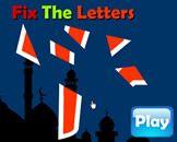 Fix The Letter - Arabic Alphabet Puzzle Islamic website for kids Muslim children