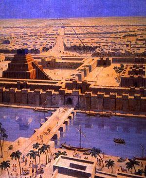 バビロンの空中庭園はマルドゥクを守護神とした。
