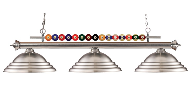 Shark Series Pool Table Lights A Cool Mounting Bar With