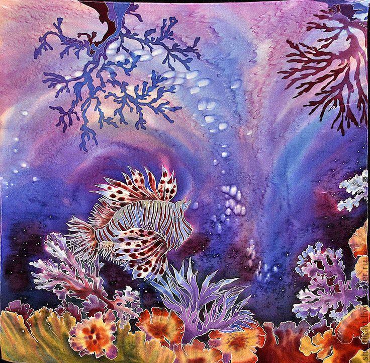 краски подводного мира картинки выглядел эскизный проект