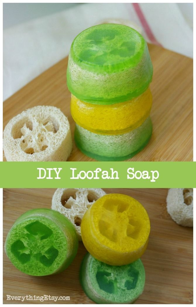 Loofah Sponge Soap Tutorial–DIY Gift Idea | Everything Etsy | Bloglovin'