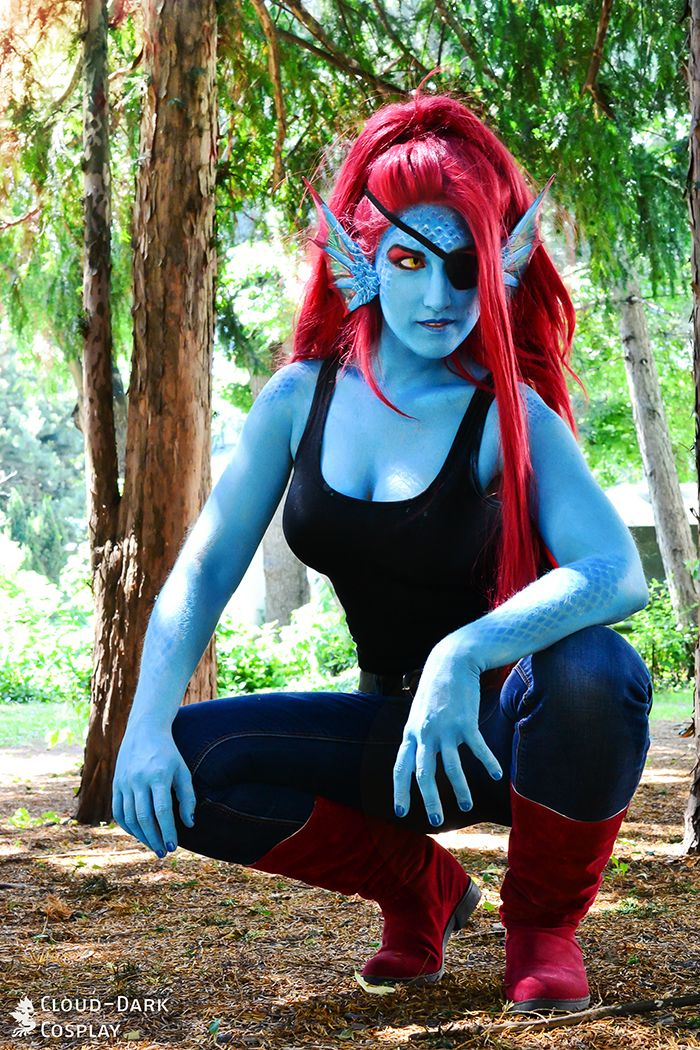 Undyne - Undertale by cloud-dark1470