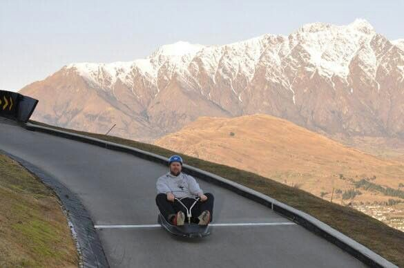 Ride The Luge Track - Queenstown