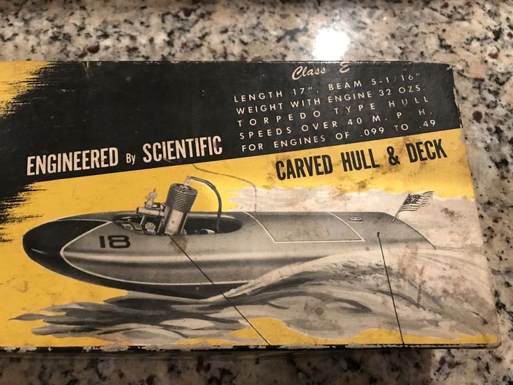 "The original Class E ""Buckeye"" 17"" racing Tether Boat / Hydroplane kit | eBay"