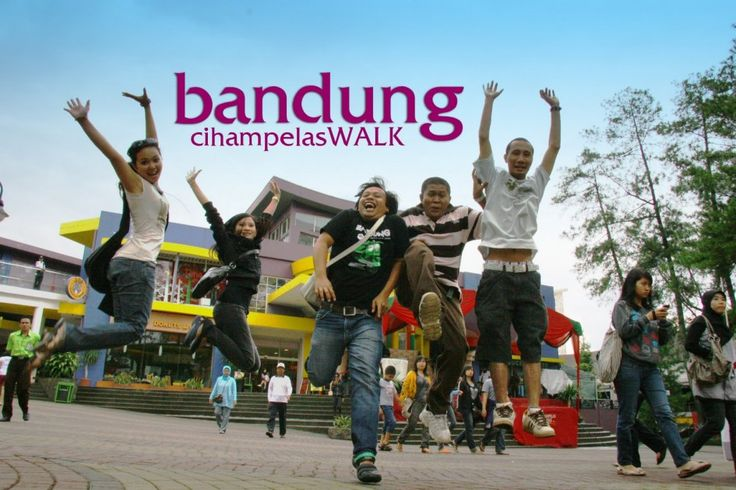 Bandung, Bandung Cihampelas Walk: Wisata Keluarga di Kota Bandung