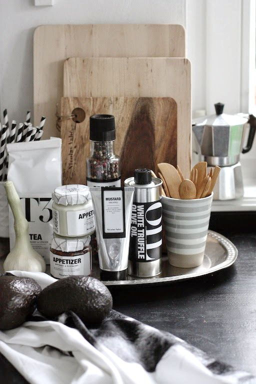 FRICHIC » Interior Shopping: Condiments with Minimalistic Design