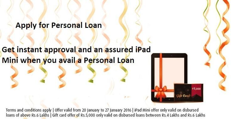 Bajaj Finserv Giving Instant Approval And An Assured Ipad Mini When You Avail A Personal Loans Personal Loans Online Person