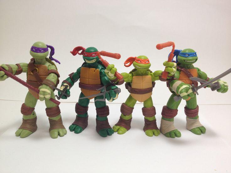 These are The Best Teenage Mutant Ninja Turtle Action Figures Ever Made: Ninjas Turtles Toys, Half Shells Turtles Power, Ninjas Turtles Action Figures, Teenage Mutant Ninjas, Teenage Mutant Ninja Turtles, Turtles Birthday, Mutan Ninjas