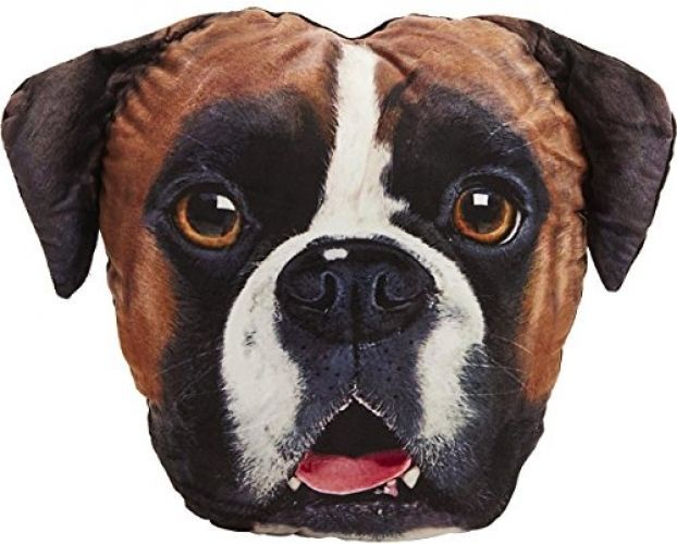 Pet face #boxer dog velour #cushion novelty gift #super soft for pet or owner cut,  View more on the LINK: http://www.zeppy.io/product/gb/2/322320868970/